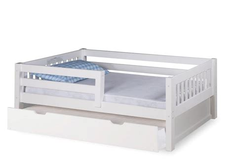 guard rail for twin bed expanditure day bed with guard rail twin trundle mission style white
