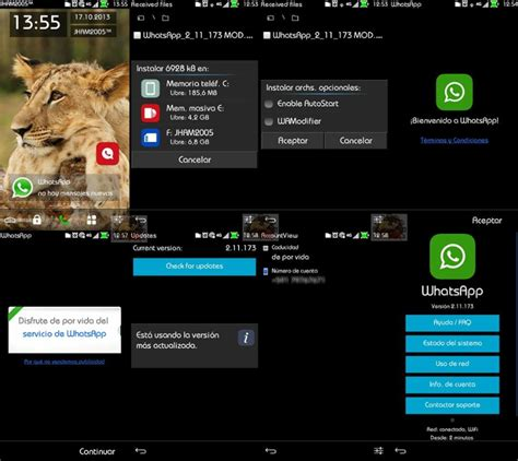 download themes for whatsapp messenger whatsapp messenger 2 11 173 installable in c e f