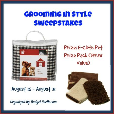 pet grooming in style sweepstakes mumblebee inc - In Style Sweepstakes