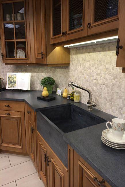 Light Soapstone - kitchen countertops pros cons of soapstone