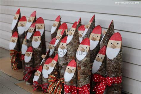 log santa trio woodchuckcanuckcom