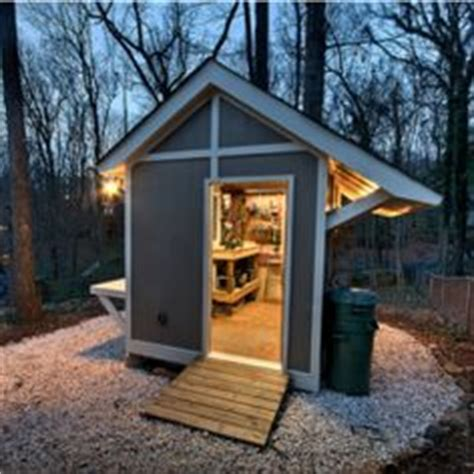 Backyard Woodshop by Workshop Space On Wood Shops Small Sheds