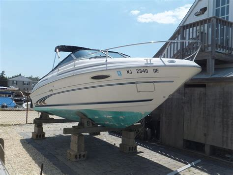 used cuddy cabin boats for sale nj 1997 used sea ray 215 express cruiser cuddy cabin boat for