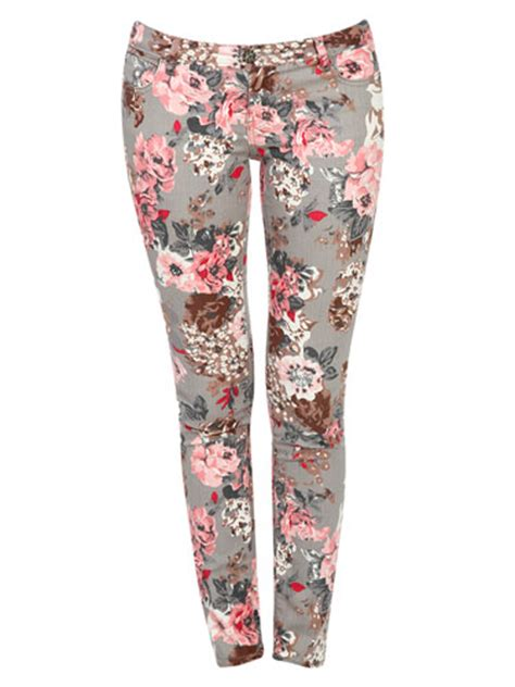 Patterned Denim by Printed And Patterned Floral Polka Dot And