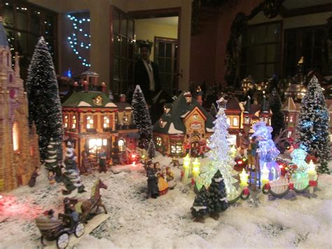 home design image ideas christmas village decoration ideas
