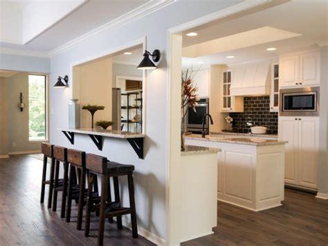 comment fermer une cuisine am駻icaine comment meubler votre cuisine semi ouverte archzine fr