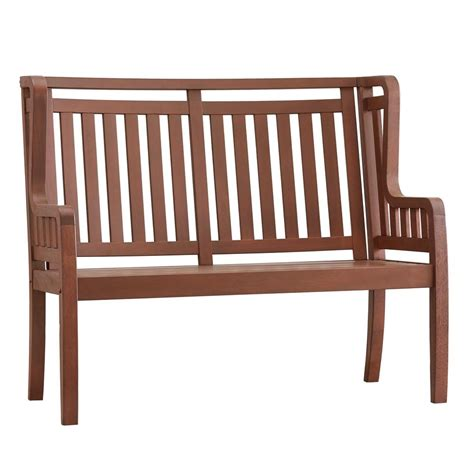 outdoor folding bench walker edison furniture company 48 in wood folding