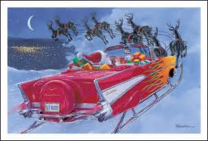 who posted santa in 57 sleigh trifive 1955 chevy