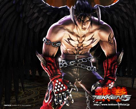 game wallpaper tekken 5 devil jin