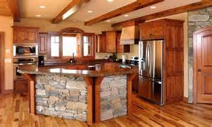 kitchen without island rustic knotty alder cabinets small designs shaped