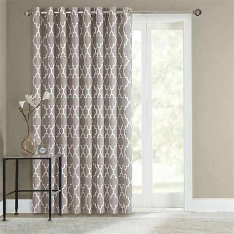sliding door curtains for the home sliding