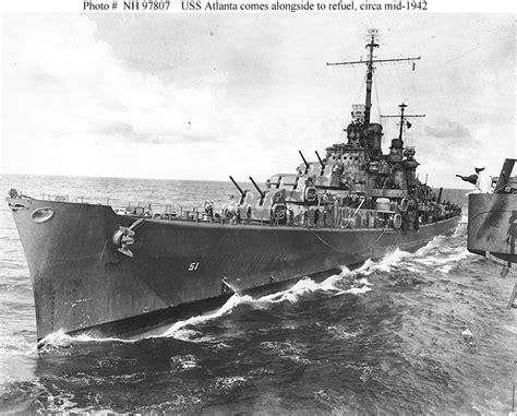 ss atlanta usn ships uss atlanta cl 51