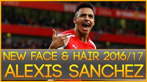 alexis sanchez pes 2017 pes 2013 face hair alexis s 225 nchez 2016 2017 by radim