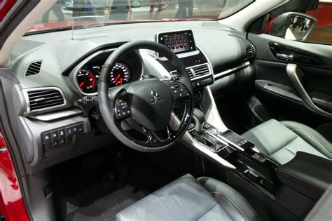 mitsubishi crossover interior mitsubishi eclipse cross suv pictures auto express