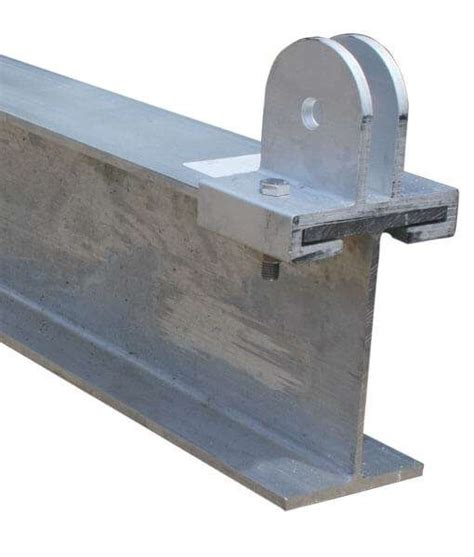boat lift i beam 10 quot aluminum cradle beam with sheave brackets bh usa