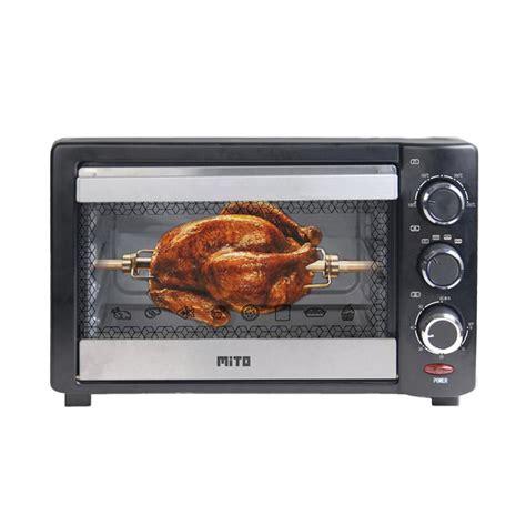 Info Oven Listrik jual mito mo 666 oven listrik hitam 19 l wrap