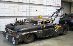 just a car rat rod tow truck size 1950 s chevy
