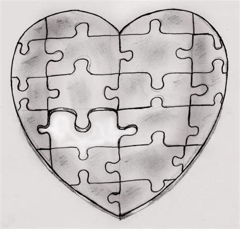 heart puzzle tattoo puzzle tattoos likes