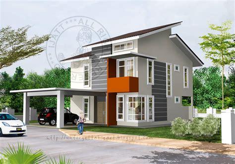 Reka Bentuk Rumah Banglo 1 12 Tingkat Pelan Rumah D1 03 Pelan Rumah   reka bentuk rumah satu tingkat denah rumah