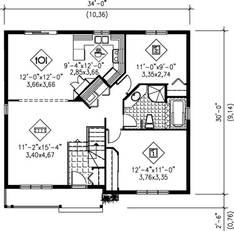 small carriage house floor plans cottage style house plan 2 beds 1 baths 1002 sq ft plan