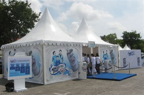 Tenda Kafe Stand Sarnavil Bazzar Panggung sewa tenda dan peralatan pesta di bali tenda sarnafil kerucut di bali