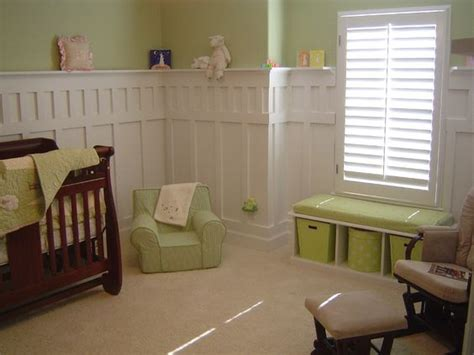 wainscoting baby room wainscoting nurseries and waynes coating on
