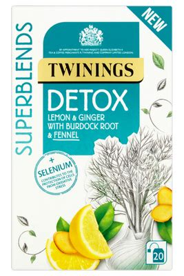 Detox Herb Tea Uk by Twinings Herbal Superblends Tea Detox