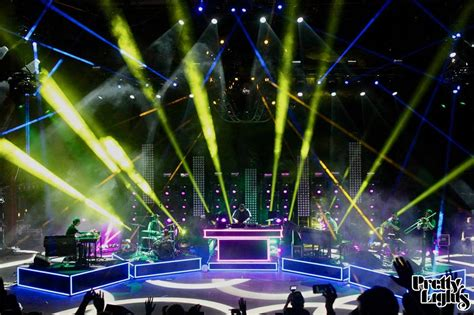 Pretty Lights Live by Must Pretty Lights Live Band Light Show Debut At