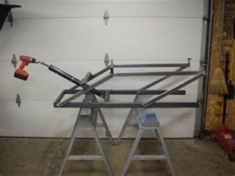 build your own sled lift homemade snowmobile lift homemadetools net