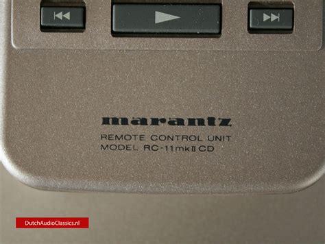 Modulator 022 Player marantz cd11 le dutchaudioclassics nl