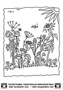 malvorlagen garten garden coloring pages printable coloring home