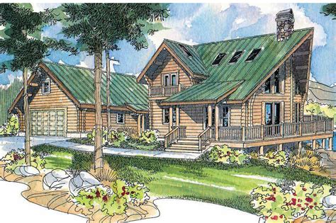 a frame house plans with garage a frame house plans stillwater 30 399 associated designs