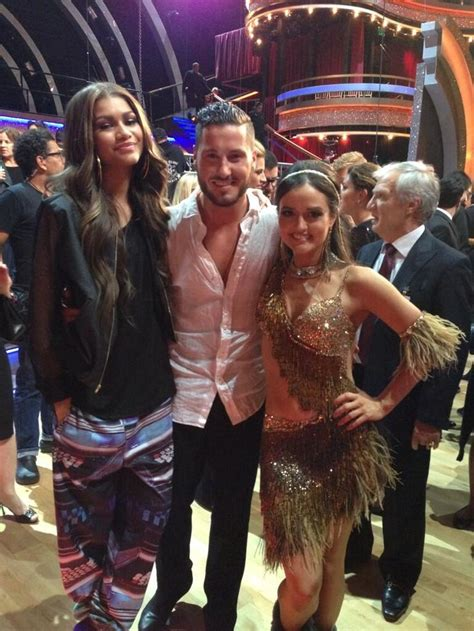 val danica dating lovely to see zendaya back at dwts for val s birthday
