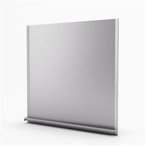 alpha real inoxia backsplashes alpha real stainless steel backsplash 30 inches the home depot