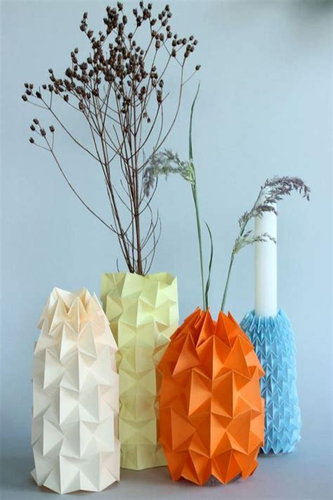Paper Vase Craft - the 487 best images about diy paper crafts on
