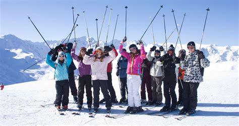 Ski School School school ski trip study wagrain austria