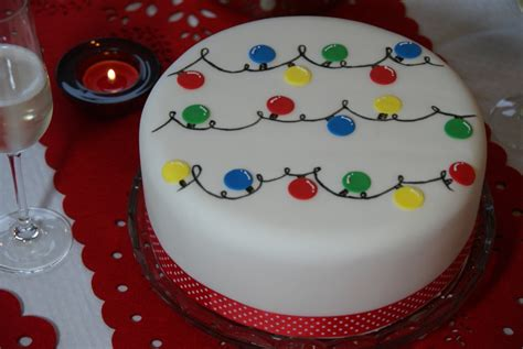 cute festive lights cake full tutorial it s time to