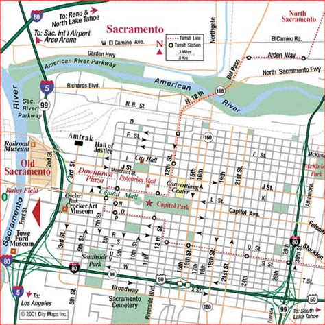 map of sacramento map of sacramento map3