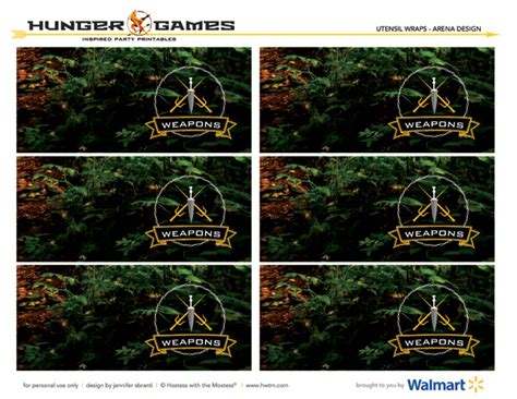 printable hunger games free printables the hunger games party