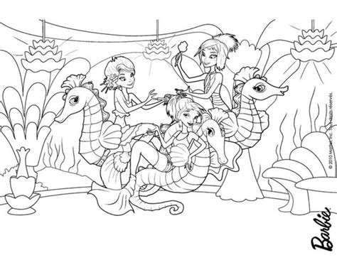 mermaid family coloring page a family of mermaids and seahorses coloring pages for kids