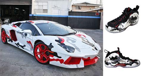 Chris Brown Paints Lamborghini Aventador After HisNike