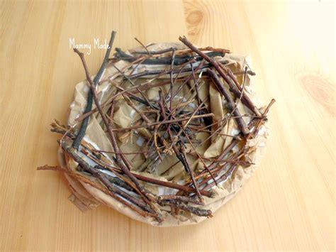 mammy made easter craft making a bird s nest