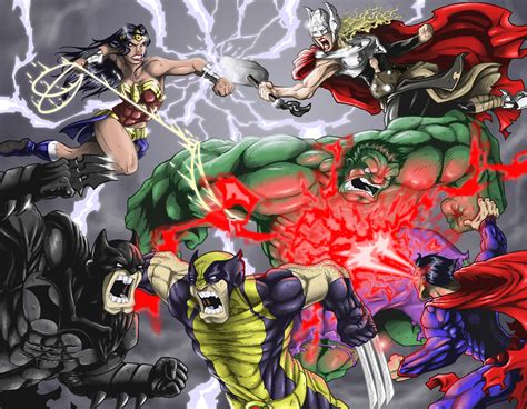 marvel vs dc wallpaper by artifypics on deviantart marvel vs dc by danielroper on deviantart