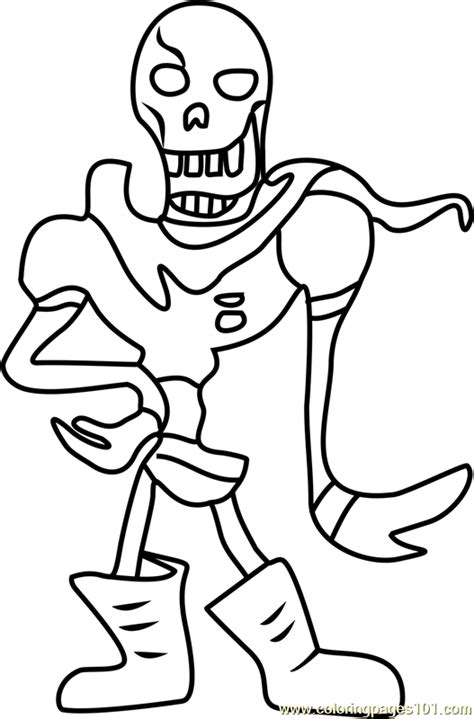 coloring pages undertale papyrus undertale coloring page free undertale coloring