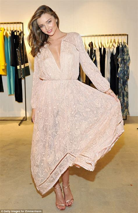 Another Inspired Fashion Store Launches by Former S Secret Model Miranda Kerr Displays