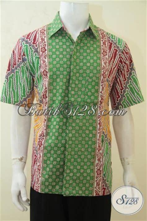 Kemeja Batik Papua Kombinasi baju kemeja batik hijau kombinasi merah dan kuning busana batik paling keren membuat cowok