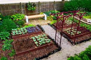 Small Backyard Vegetable Garden Ideas Triyae Vegetable Garden Ideas For Small Backyards Various Design Inspiration For Backyard