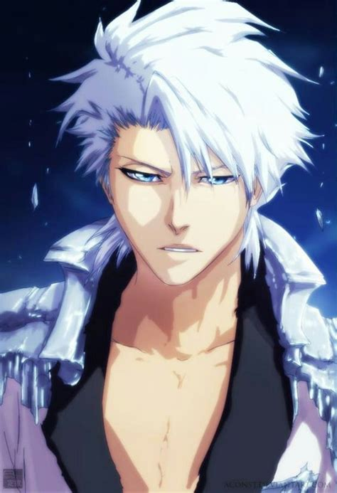 bleach hairstyles anime my top 10 anime male white silver gray hair of 2017