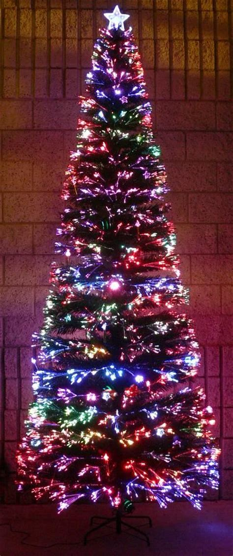 fiber optic tree christmas trees pinterest