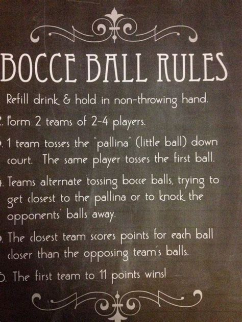 backyard bocce ball rules 17 best images about bocce on pinterest glow bocce ball